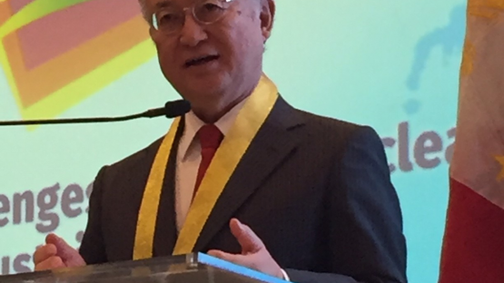 IAEA Director General Amano Remarks at Philippine Nuclear Youth Summit