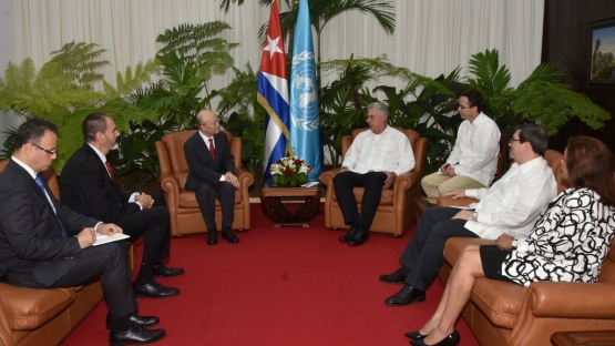 IAEA and Cuba Reaffirm Commitment to Strengthened Technical Cooperation