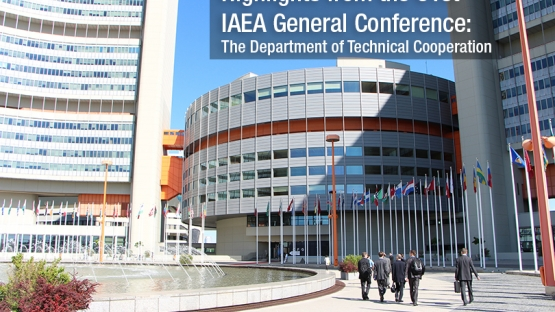 The IAEA held its 61st General Conference in September, with over 2000 participants from 157 Member States. Delegates met  to consider and approve the IAEA's programme and budget, and also participated in side events and informal discussions.