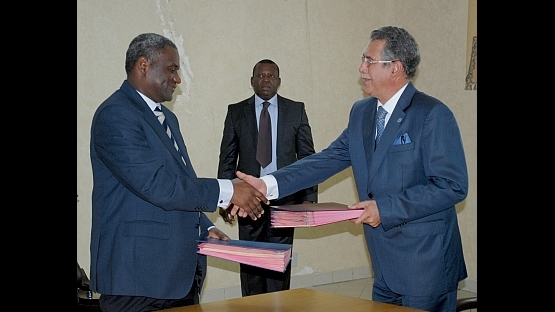 Gabon signed its new UNDAF