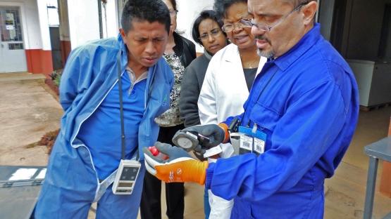 disused radioactive sources training Madagascar
