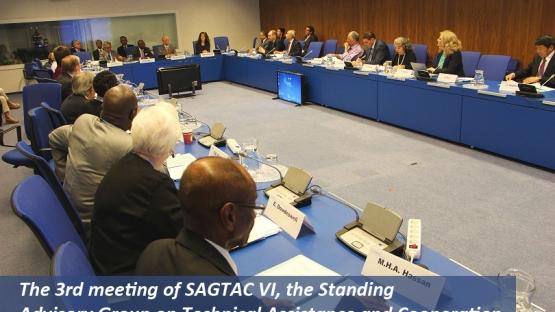 The 3rd meeting of SAGTAC VI, the Standing Advisory group on Technical Assistance and Cooperation, has just concluded a week long meeting in Vienna, Austria, at the headquarters of the IAEA.