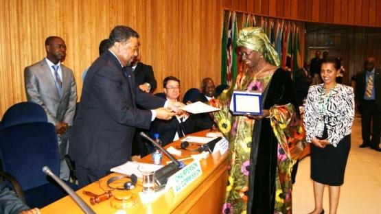African Union Regional Award