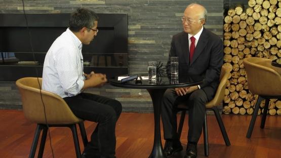IAEA Director General Amano Discusses Cooperation During Visits to Ecuador, Peru and Bolivia
