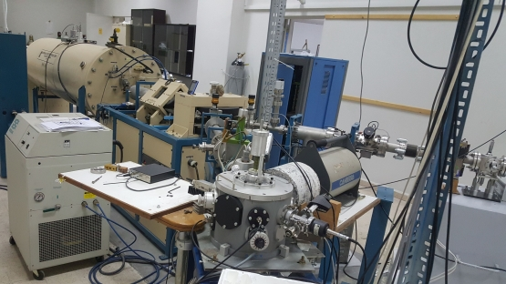 The structure of an ion beam accelerator at a laboratory belonging to the Lebanese Atomic Energy Commission
