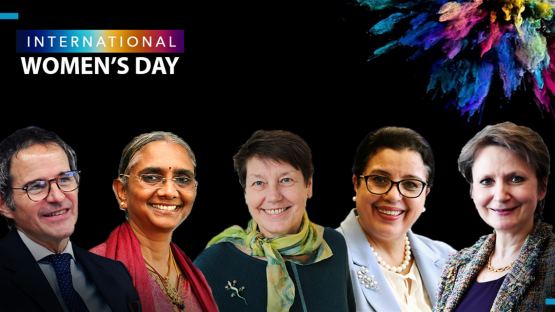 IAEA Women Leaders Share Their Journeys on International Women's Day 2021: Panel Discussion