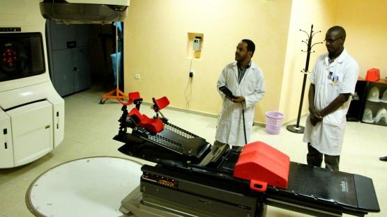 Mauritania, nuclear medicine centre, radiotherapy, cancer, IAEA