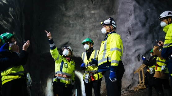 Finland's Olkiluoto, the world's first ever deep geological repository for spent fuel