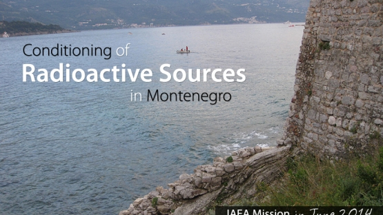 In June 2014, the IAEA helped Montenegro to prepare over 90 radioactive sources for safe and secure storage. These sealed sources were contained in devices that were used primarily for lightning rods.