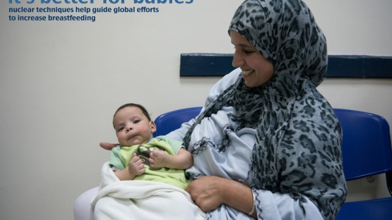 Scientific evidence has shown that exclusive breastfeeding for the first 6 months of a child's life is the best and healthiest way to feed newborns. <br /><br />(Photo: Mother and child right after a feeding).