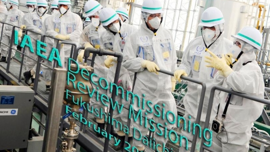 Third IAEA mission to review Japan's plans and work to decommission the damaged Fukushima Daiichi Nuclear Power Station, February 2015, Tokyo, Japan.
