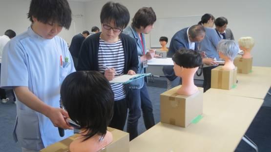 Thyroid dosimetry training at FMU during an IAEA Technical Meeting