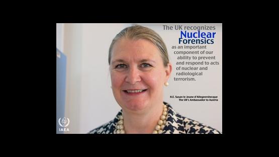 Ambassador Susan le Jeune d'Allegeershecque