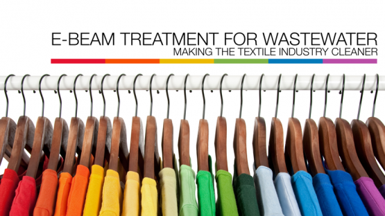 The clothes industry is a major source of income for many countries. But before textiles can be turned into garments, they need to be dyed. Wastewater from dyeing processes is leading to environmental pollution.  The IAEA supports the use of a radiation technology to address this issue.