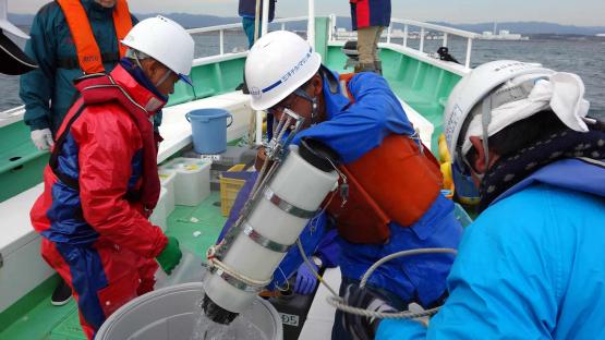 Fukushima water sampling
