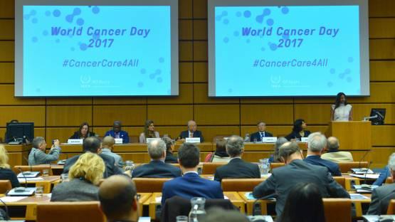 World Cancer Day 2017 Event at the IAEA Headquarters, Austria, Vienna, 3 February 2017