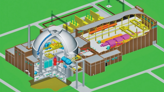 WWER-1200 pressurized water reactor