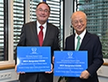 CEA-IAEA exchange of plaque