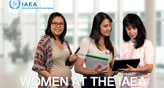Women at the IAEA